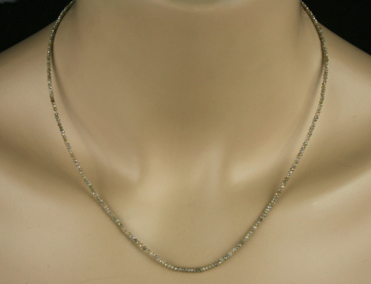 Dia Kette fac champ 1 1200x921 - Diamant Kette - Collier in champagner, 13ct.