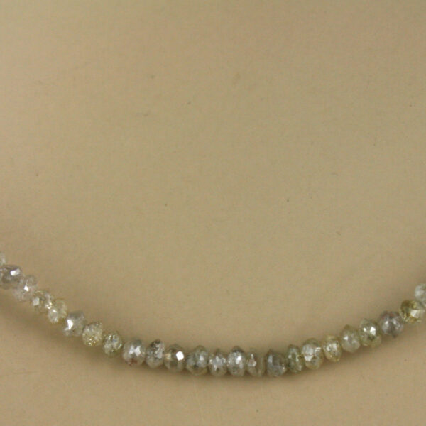 Dia Kette fac champ 3 600x600 - Diamant Kette - Collier in champagner, 13ct.